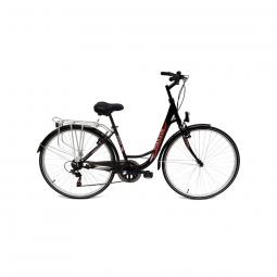 Velo de ville maxxus city bike avenue 28 shimano 6v noir