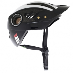 URGE M-2013 Helmet All Black White