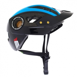 URGE M-2013 Helmet All Black Blue
