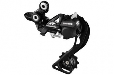 Shimano derailleur arriere xt 786 gs shadow plus 10 vitesses noir moyenne