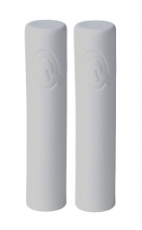 PROLOGO Pair Grip White FEATHER