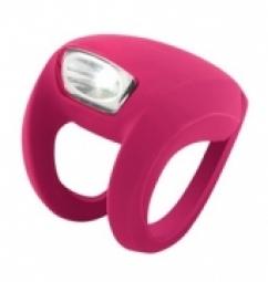 KNOG Lampe avant FrogStrobe LED - Magenta