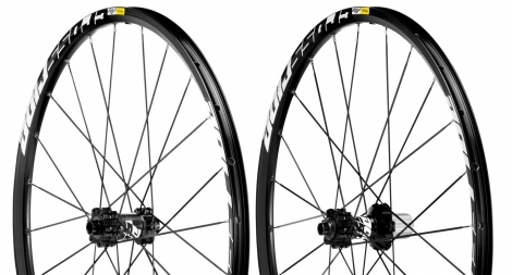 2013 Mavic Wheelset CROSSRIDE 26'' 15 av / ar 12 mm