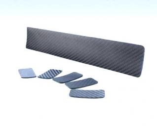 YTWO Protection Carbone et Cuir pour tube inférieur + 6 patchs