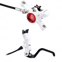 FORMULA 2013 Front Brake RX 75cm Hose + Disc 160mm PM White