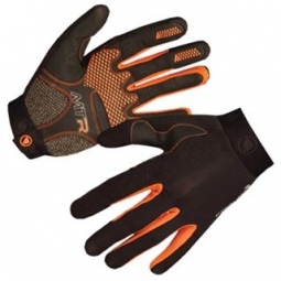 Endura paire de gants longs mtr noir orange s