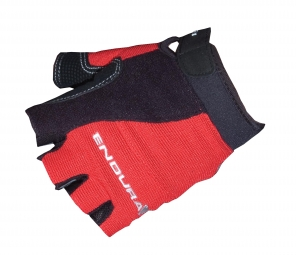 ENDURA Paire de gants Courts MIGHTY MITTS Rouge