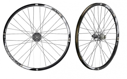 AMERICAN CLASSIC 2014 Wheelset RACE 26'' 9mm Tubeless Black
