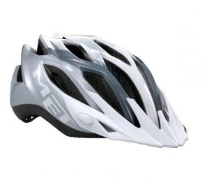MET 2013 Crossover Helmet White / Silver
