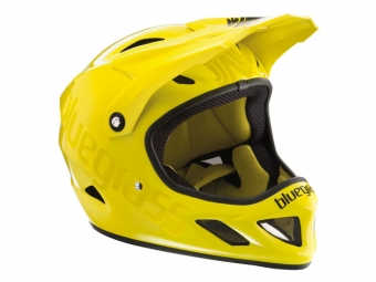 Casco integral Bluegrass Explicit Amarillo