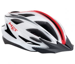 2013 MET helmet Pilgrim White / Red