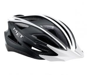 2013 MET helmet Pilgrim Black / White
