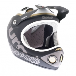 URGE 2013 Helmet DOWN-O-MATIC Brat Matte Black