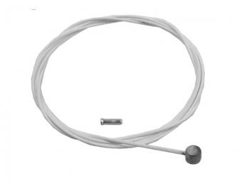 KCNC Câble de dérailleur téflon Blanc