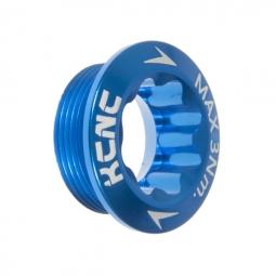 kcnc vis de serrage pour pedalier shimano hollowtech bleu