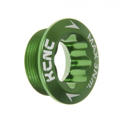 KCNC Vis de serrage pour pédalier Shimano Hollowtech Vert