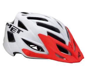 MET 2013 casque TERRA Blanc/Rouge
