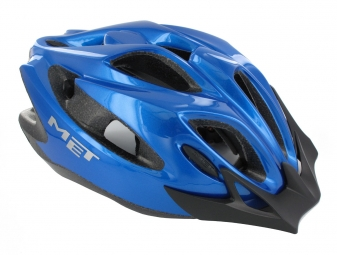 MET Helmet CRACKERJACK Blue One Size