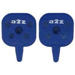 A2Z paire de plaquettes organique tektro hydro