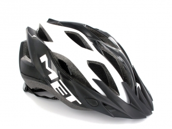 MET 2013 CROSSOVER Helmet White / Black One Size Panel