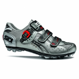 chaussures vtt sidi eagle 5 fit titane gris 40