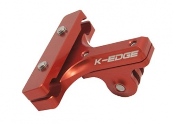 K-EDGE Support seat clamp for camera GOPRO Red