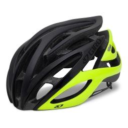 2013 Giro Atmos Helmet Black Neon Yellow