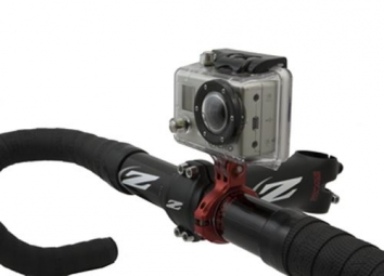 k edge support cintre haut pour camera gopro gunmetal