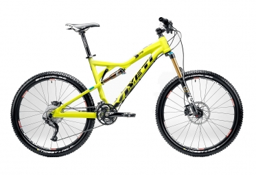 YETI 2012 squad ALU 575 Lime Size L + RP2 shock