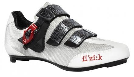 Chaussures Route FIZIK R3 UOMO 2013 Noir Rouge Gris
