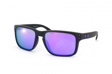 oakley lunettes holbrook julian wilson noir violet iridium ref oo9102 26