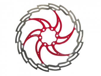 Xlc disque de frein 160 mm rouge