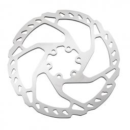 disque de frein shimano sm rt66 argent 180 mm