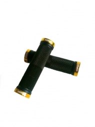 SB3 pair KHEOPS Lock On Grips Black Gold