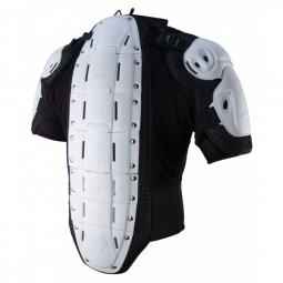 ixs veste de protection manches courtes hammer jacket blanc kid l