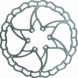 disque de frein ashima aro 09 ai2 argent 180 mm