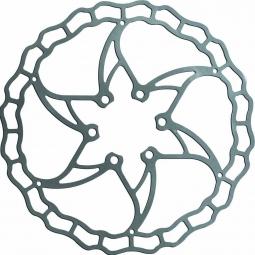 disque de frein ashima aro 09 ai2 argent 160 mm