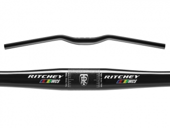 RITCHEY Cintre Plat Tom Bar WCS 10D 31.8 mm 700 mm Noir Brillant