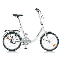 Vélo-Pliant Amiens Blanc