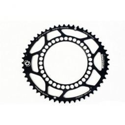 Rotor plateau route externe q ring 53 dents 130 ea noir