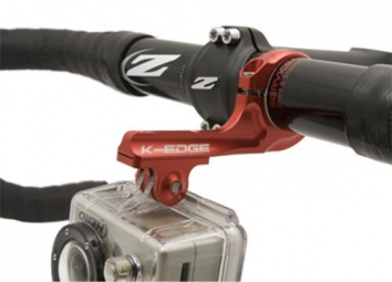 k edge support cintre pour gopro rouge