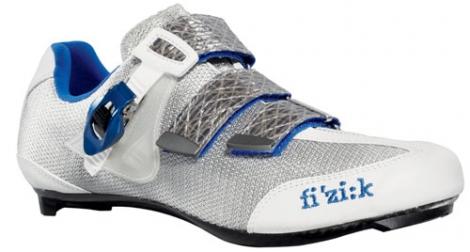 Chaussures Route FIZIK R3 UOMO Blanc Bleu