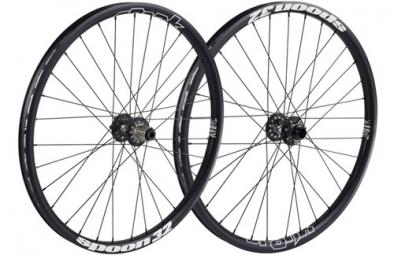 SPANK Paire de roues SPOON 32 Noir 20mm/135x12mm