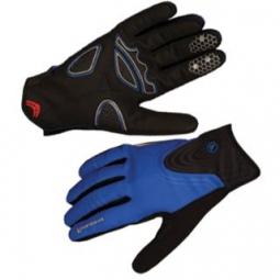 Endura paire de gants windchill bleu l