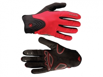 endura paire de gants windchill rouge l