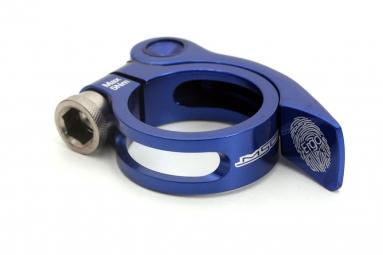 msc collier de selle rapide ergo aluminium ti bleu 31 8