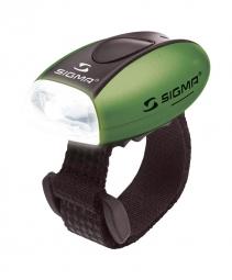 Sigma lampe avant micro led vert