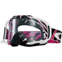 OAKLEY Masque CROWBAR MX RAZORS Edge Rouge/Noir