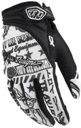 TROY LEE DESIGNS Paire de Gants XC Noir Blanc