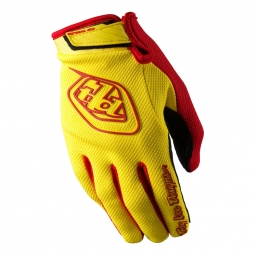 TROY LEE DESIGNS Paire de Gants GP AIR Jaune Rouge